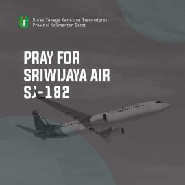 Pray for Sriwijaya Air SJ – 182